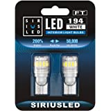 SIRIUSLED - FT- 194 912 Side Marker LED Light Car Interior, Map, Dome, Trunk, Backup Bulb High Power 3030 + 4014 SMD Super Br