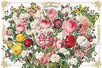 1000ピース ジグソーパズル 花のブーケ (50x75cm)