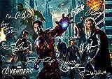 アベンジャーズ(11.7X 8.3)ムービー印刷ロバート・ダウニーJNR Chris Hemsworth Scarlett Johanssonジェレミー・レナーJoss Whedon