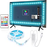 YEEMAYLUX TV LED Backlight,Classic 4096 Color Changing USB led Light Strip with Remote for tv Backlight/RGB led Strip Lights,