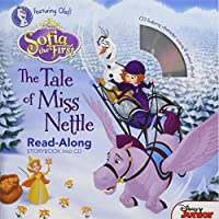 Sofia the First Read-Along Storybook and CD The Tale of Miss Nettle