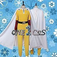 【サイズ選択可】コスプレ衣装 16R0924 ワンパンマン サイタマ ハゲマント 女性XSサイズ