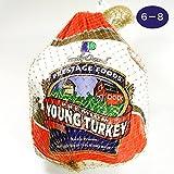 ターキー(七面鳥)6?8ポンド(約2.7?3.6Kg) 丸鳥 生 冷凍 丸ごと 鶏肉 クリスマス 冷凍