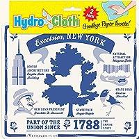 Fiddler 'sエルボExcelsior、ニューヨークHydro Cloths |濡れIt |再利用可能なスウェーデンDish Cloths |のセット2PrintedスポンジCloths | Replaces 30ロール紙タオルの