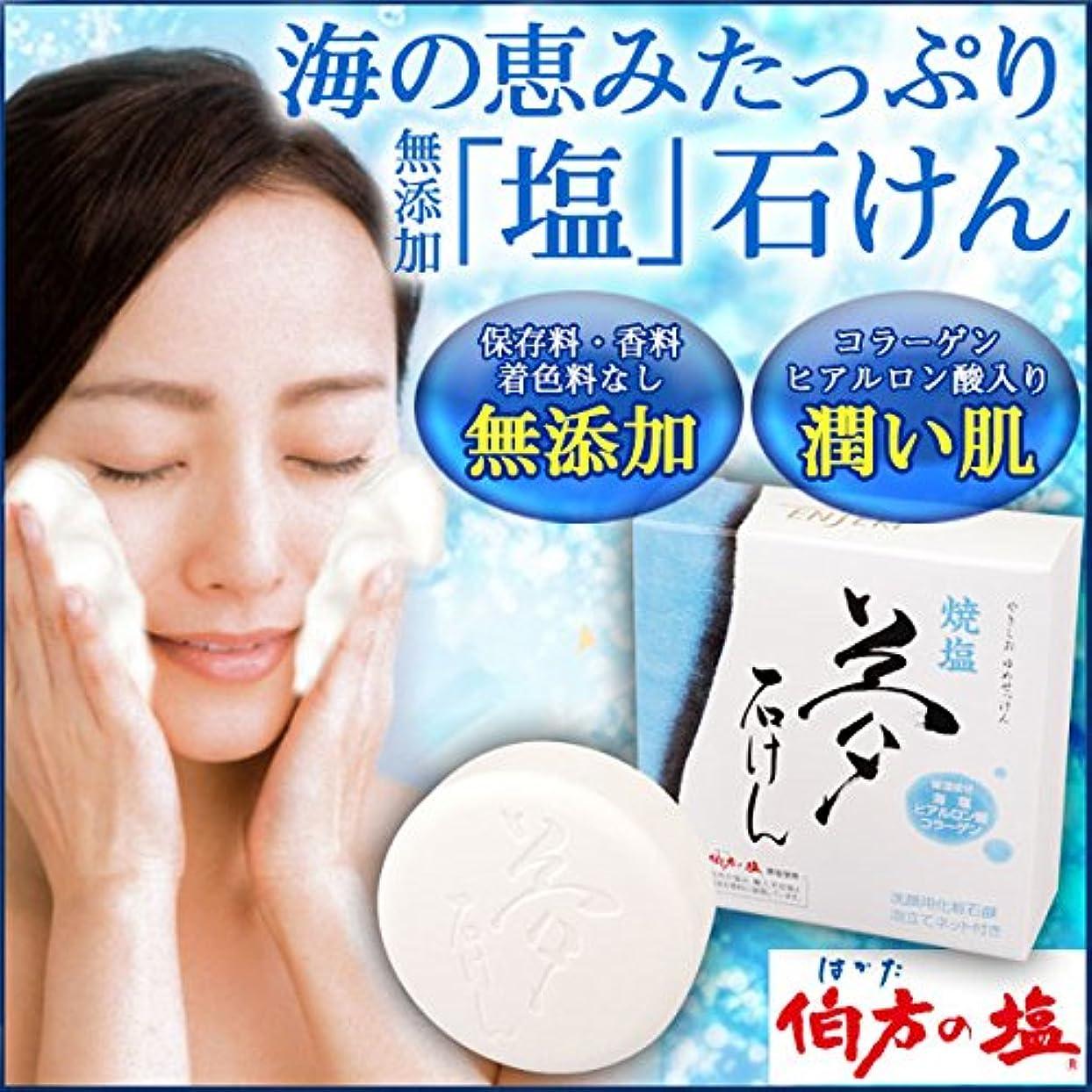 解説力学ガード焼塩 夢石けん (60g)