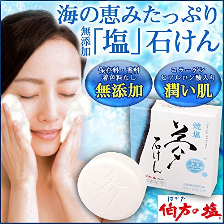プラスチック結紮旅焼塩 夢石けん (60g)