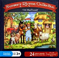 "Nursery Rhyme Collection""Old MacDonald"" 24 Piece Puzzle"