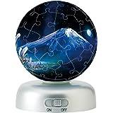 60ピース 光る球体パズランタン 富士星天 -オリオンの空-