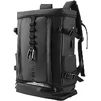 Sendida メンズ リュックサック 大容量 防水 リュック - A4 PC バックパック ナイロン 靴 野球 バット…