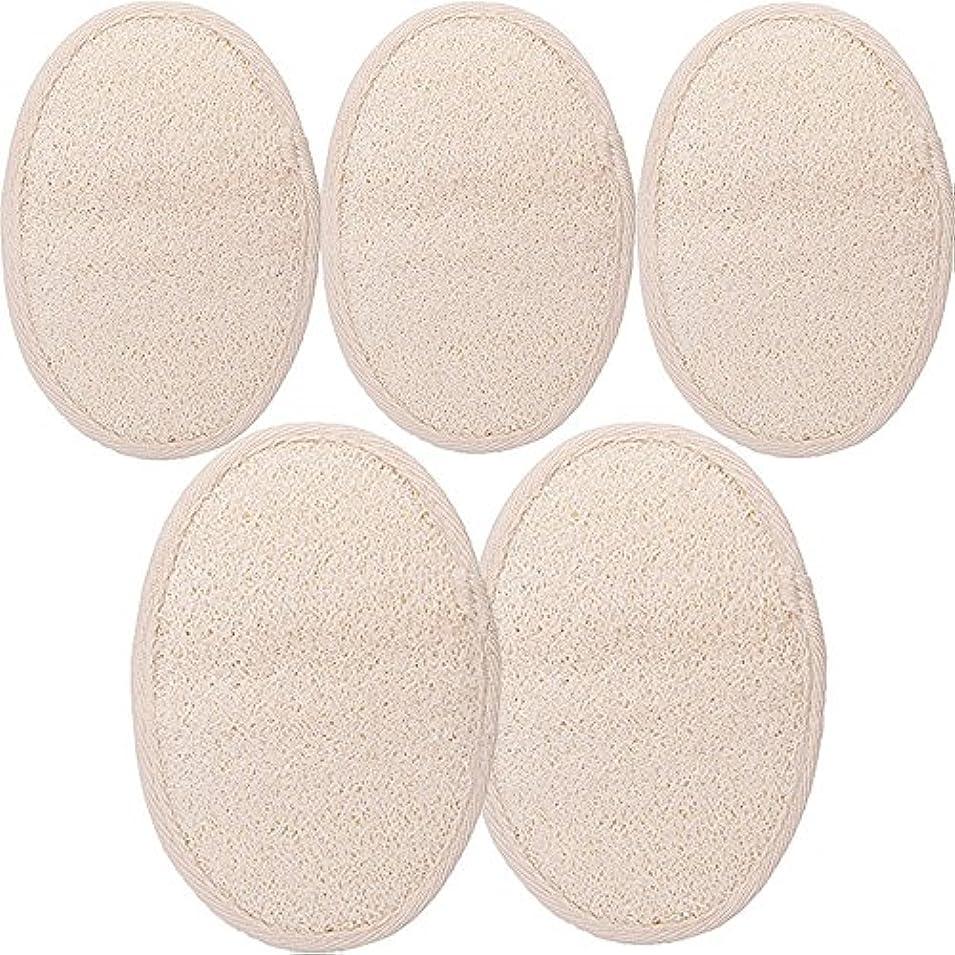シャワー ベルト 天然ヘチマ お風呂用 背中も洗える 血行促進 角質除去 (SGP1-A-5PCS)
