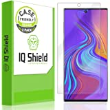 IQ Shield Screen Protector Compatible with Samsung Galaxy Note 10 (6.3 inch Display)(2-Pack)(Case Friendly) Anti-Bubble Clear