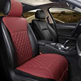 Black Panther Car Seat Cover, Luxury Car Protector,Universal Anti-Slip Driver Seat Cover with Backrest, Diamond Pattern Embro