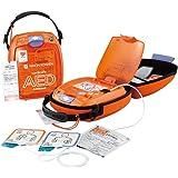 AED 自動体外式除細動器 AED-3100 カルジオライフ 日本光電 本体+キャリングケース+レスキューセット+屋外ステッカー+DVDのお得セット【本体 AED-3100 、レスキューセット、キャリングケース、 DVD、AED専門店クオリティー A