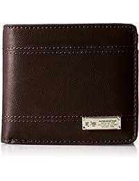 [アルファ インダストリーズ] 二つ折財布 レザーボード ロゴ&ステッチ 22619164