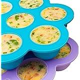 [2 Pack] Silicone Egg Bites Molds For Instant Pot by Sensible Needs - Instant Pot Accessories - Fits Instant Pot 5, 6, 8 Qt P