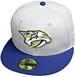 New Era Nashville Predators Heather Cap 59fifty 5950 Fitted Special Limited Edition NHL