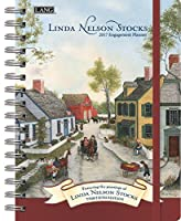 Lang 2017 Linda Nelson Stocks Spiral Engagement Planner,6 x 9 inches (17991011090) [並行輸入品]