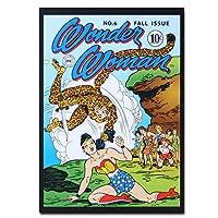 The Cheetah Superhero オリジナル・ポストカード Wonder Woman DC Comics The Cheetah Superhero カードギフト
