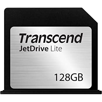 "Transcend Macbook Air専用 SDスロット対応拡張メモリーカード JetDrive Lite 130 128GB for Macbook Air 13"" (Late 2010 - Early 2015) TS128GJDL130"
