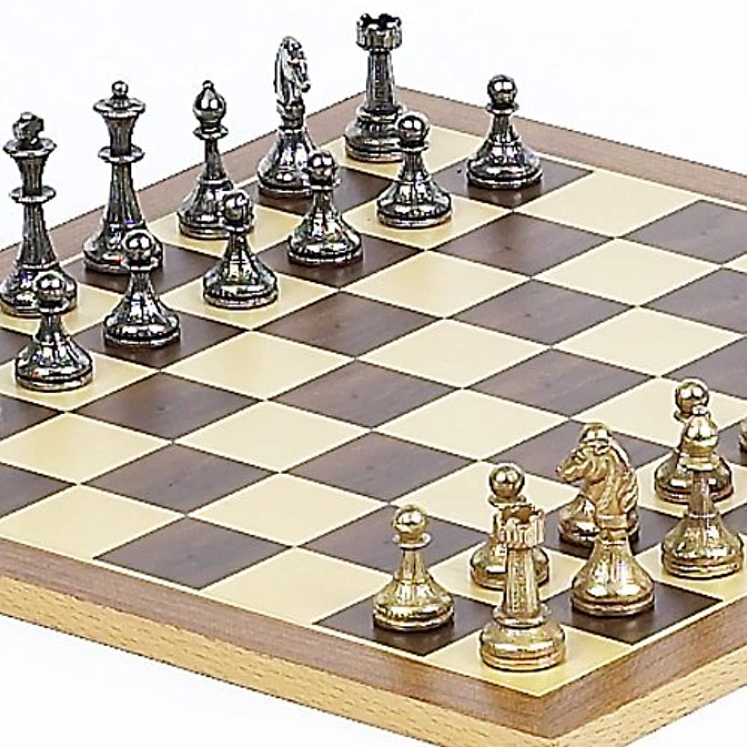 Stefano Jr, Chessmen From Italy and Houston St. Chess Board