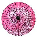 CLAISS 和傘 紙傘 踊り傘 舞踊傘 日本舞踊 (桜渦 ピンク)
