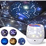 misognare Star Night Light Universe Projector Lamp for Kids with 5 Sets of Projector Film