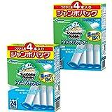 【まとめ買い】 スクラビングバブル トイレ洗剤 トイレスタンプクリーナー フレッシュソープの香り 付替用 ジャンボパック 38g 4本×2個セット