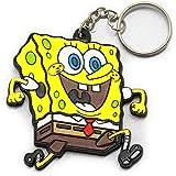 ラバーキーホルダー スポンジボブ spongebob イエロー