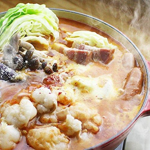 チーズとトマトのローマ風もつ鍋セット (国産牛もつ300g) ( 2~3人前)(シメはパスタ)(お歳暮 ギフト 贈り物に)