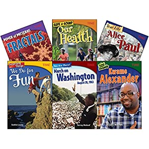 Time Informational Text, Grade 8 Set (Time for Kids Nonfiction Readers)
