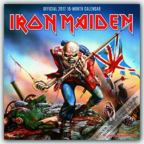 Iron Maiden 2017 Calendar