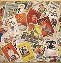 外国 ヴィンテージ 風 ポストカード ( 広告デザイン 大量 32枚 セット ) 海外 レトロ デザイン アメリカン ヨーロッパ