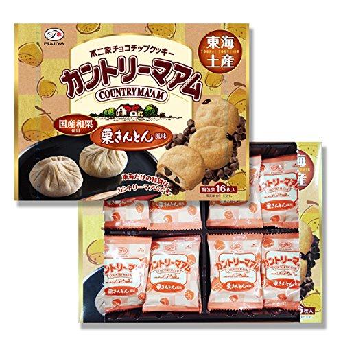 【東海限定】16枚カントリーマアム(栗きんとん風味)