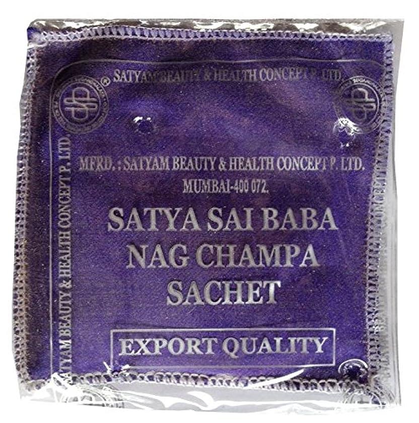 資格お勧めところでSATYA ナグチャンパ サシェ 50g