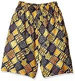 [コンバース] 子供用 ミニバス パンツ ジュニア プラクティスパンツ ポケット付 吸汗 速乾 130-160cm対応 CB492803 キッズ ネイビー/ゴールド 日本 150 (日本サイズ150 相当)