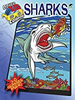 3-D Coloring Book--Sharks (Dover 3-D Coloring Book)