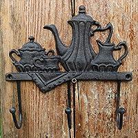LRW ヨーロッパやアメリカのフック、アンティークの鋳鉄手工芸品、製鉄所、壁掛け、壁の装飾、屋根の装飾。