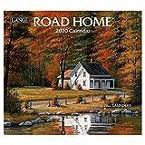 [2020 カレンダー]ラング LANG/ROAD HOME Bill Saunders カントリー 風景 インテリア 令和2年 暦