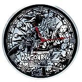 森本産業 DRAGONBALL Z 【神と神】 壁掛け時計 フルメタルウォールクロック アナログ表示 サークル RM-3016