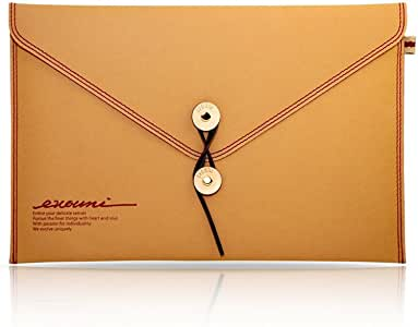 EVOUNI Non-Tear Envelope MacBook Air 11インチ対応 ブラウン/レッド E11-0BN