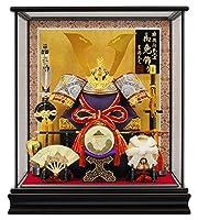 五月人形 吉徳 兜ケース飾り 兜飾り 兜12号 h305-ys-537143