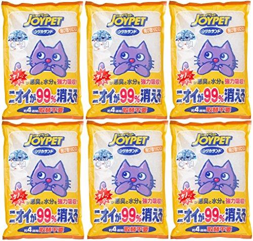 ジョイペット シリカサンドクラッシュ 4.6L×6個 (まとめ買い)