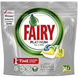 Fairy Platinum All In One Dishwasher Tablets Lemon Pack