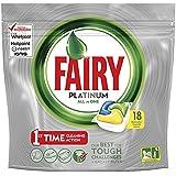 Fairy Platinum All In One Dishwasher Tablets Lemon Pack