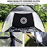Golf Practice Tent, Outdoor Foldable Target Training Portable Golf Practice Net Tent