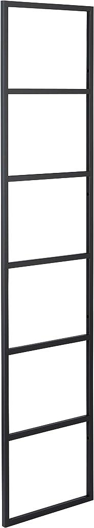 ウッドワン 棚柱用カナモノ カベツケ ブラック [高さ1262mm] MKATK12-1-K