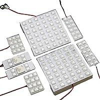 BIGROW 200系 HIACE ハイエース LED ルームランプ キット 超広角&高輝度 FLUX LED使用