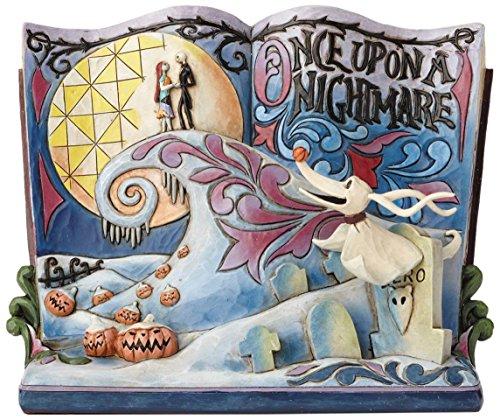 ディズニー・トラディションズ NBC ナイトメア・ビフォア・クリスマス ゼロ ストーリーブック スタチュー