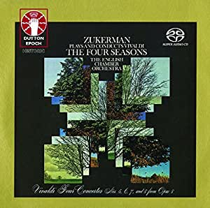 Zukerman Plays And Conducts Vivaldi The For Seasons (SACD)