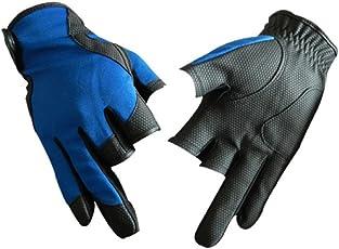(FUPUONE) フィッシンググローブ 釣り 手袋 3本指だし 男女兼用 3カラー 3サイズ